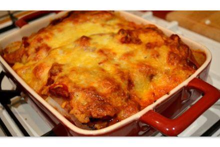 cod fish lasagna