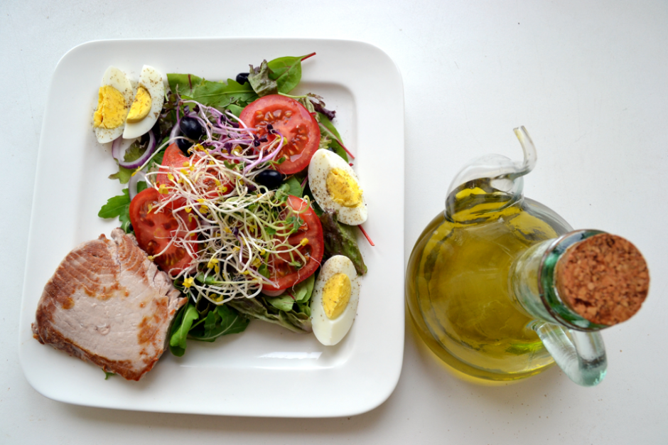 de luxe tuna salad