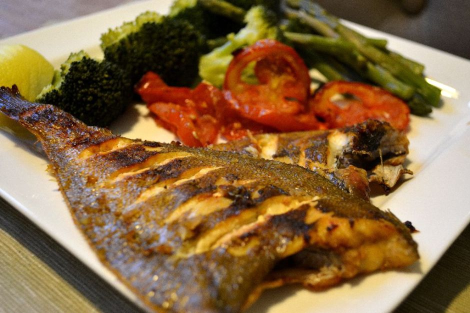 oven baked sole fish