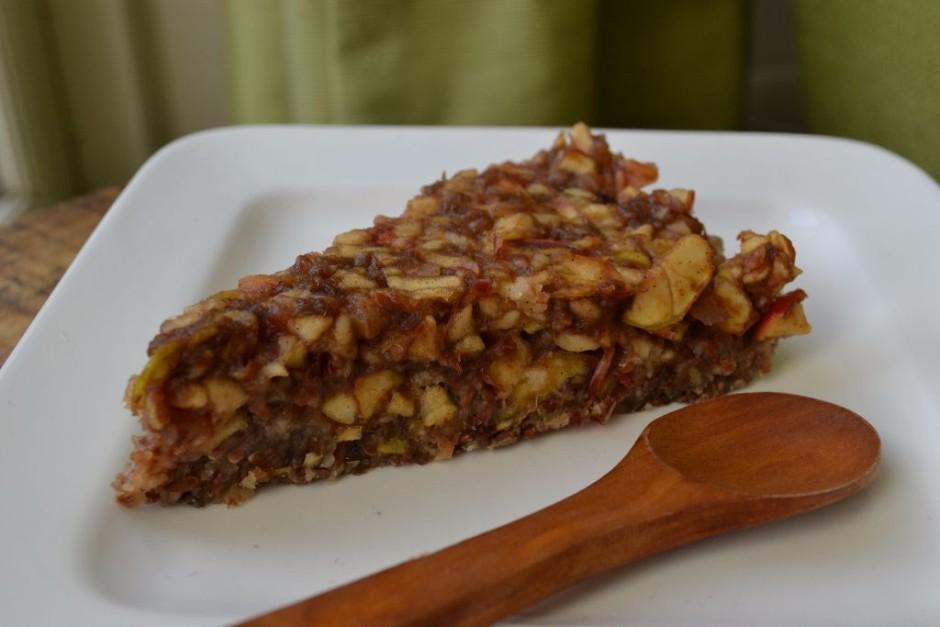 raw vegan apple pie
